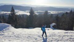 Mühlriegel: Blick ins Zellertal