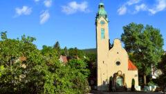 Die Kreuzkirche in Jablonec: eine der seltenen Jugendstilkirchen