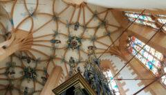 Die spätgotische Annakirche im sächsischen Annaberg mit ihrem großartigen manieristischen Gewölbeschmuck