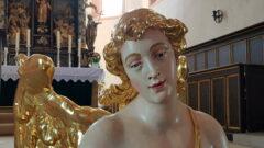 Taufengel in Bayreuther Markgrafenkirche