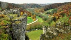 Zwischen Eilsbrunn und Eichhofen erstreckt sich der schönste Teil der Jurasteiges mit zauberhaften Aussichten