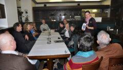 """Das berühmteste Literaturcafe der Welt, das """"Cafe Arco"""" ist heute nur noch eine Kantine. Aber wir kennen die netten Betreiberinnen"""