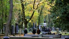 Der jüdische Friedhof in Prag ist ein melancholisch-schöner Ort, besonders im Spätherbst
