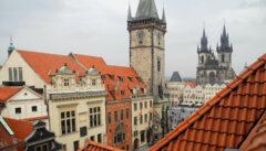 Der Altstädter Ring gehörte zum engsten Lebensraum Franz Kafkas