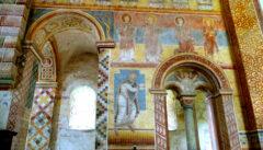Die romanischen Fresken in der Klosterkirche Prüfening sind ein großer kunsthistorischer Schatz