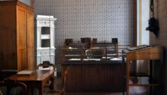 Franz Grillparzers Arbeitszimmer, heute Bestandteil des Literaturmuseums