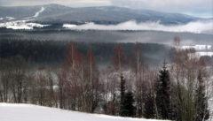 Abschiedsblick von der Villa Breitenberg auf den Böhmerwald