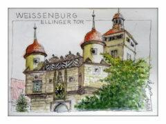 Antje Roloff: Weissenburg Ellinger Tor