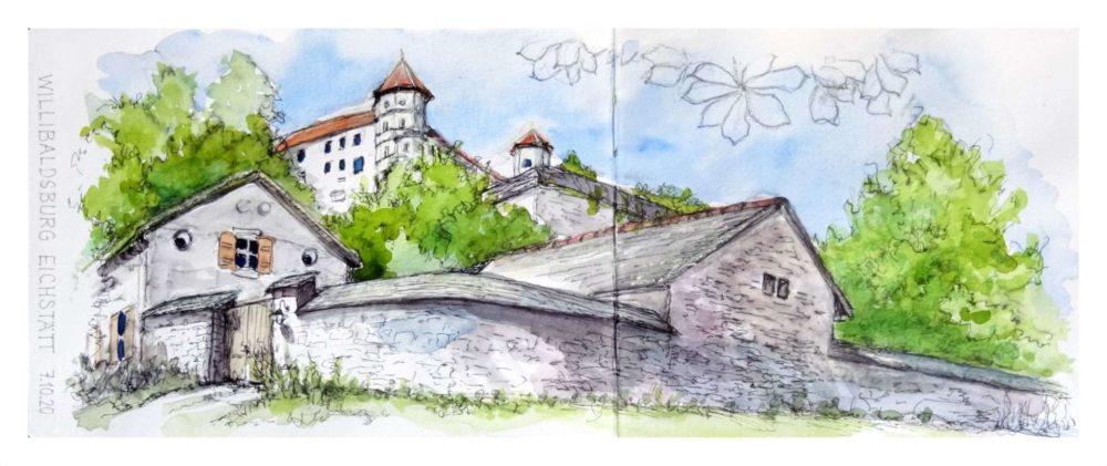 Antje Roloff: Willibaldsburg in Eichstätt