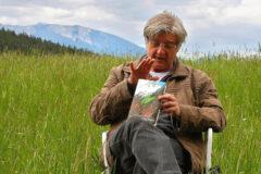 Arthur schleppt die Literatur gern in die Natur