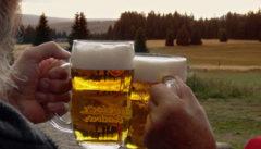 Tschechisches Bier nach der Moldauwanderung
