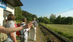 Wir nutzen die Bahn als individuelles und ökologisches Verkehrsmittel