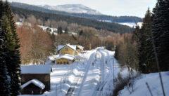 Die Spičak-Bahn: eine der schönsten und schwierigsten Bahnstrecken Tschechiens