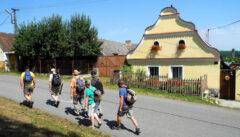 Noch finden sich in den Dörfern hübsche böhmische Barockhöfe