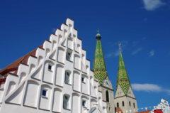 Türme der Kirche St. Walburga in Beilngries