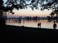 Blick über die Havel von Babelsberg nach Potsdam