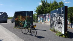 Bornholmer Straße: Erklärungstafeln zum Mauer-Fall