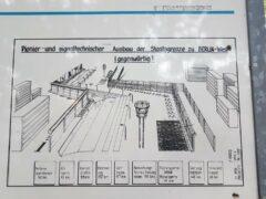 Erklärungstafel am Mauerweg