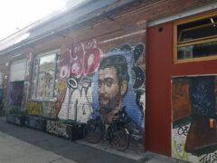 Nicht nur an der East-Side-Gallery - in Berlin gibt es Graffiti auf Schritt und Tritt