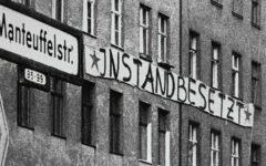 Eines von vielen: Instandbesetztes Haus in Kreuzberg 1980
