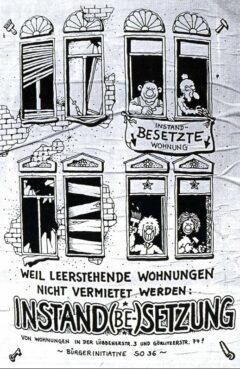 Besetzer-Plakat - Kreuzberg 1980 (aus www.wohnmal.info/events/kreuzberg-museum-so36/)