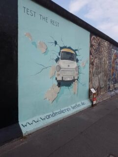 Kunst zum Mauer-Fall
