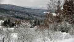 Das Künische Gebirge über Eisenstein: im Winter eine unvergessliche Landschaft