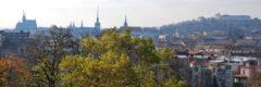 Die Türme von Brünn: Dom, Jakobskirche und Festung Spielberg