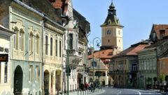 Das alte Kronstadt war das intellektuelle und religiöse Zentrum Siebenbürgens