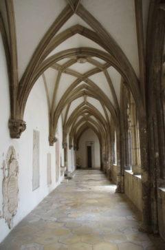 Gotische Gänge im Domaschatzmuseum von Eichstätt