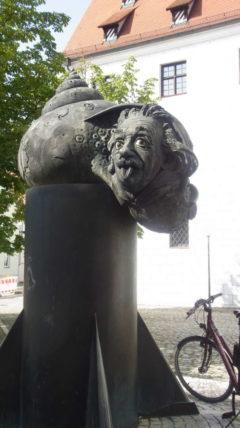 Einstein-Denkmal in Ulm