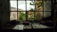 Heute verfällt, was einst ein Fenster in die Freiheit war