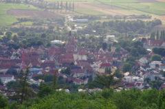 Blick auf Weißenburg von der Festung Wülzburg