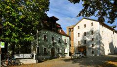 Unser Quartierr: Gasthof und Hotel Röhrl in Eilsbrunn. Alt und Neu intelligent vereint