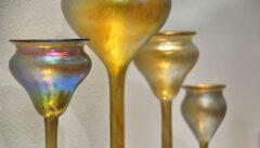 Das Glasmuseum Klatovy präsentiert die größte Sammlung der berühmten Lötz-Gläser aus der böhmischen KLostermühle
