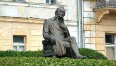 Goethe-Denkmal in Marienbad
