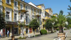 Franzensbad mit seiner klassizistischen Bäderarchitektur