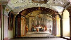 Barockes Refektorium von Kloster Tepl