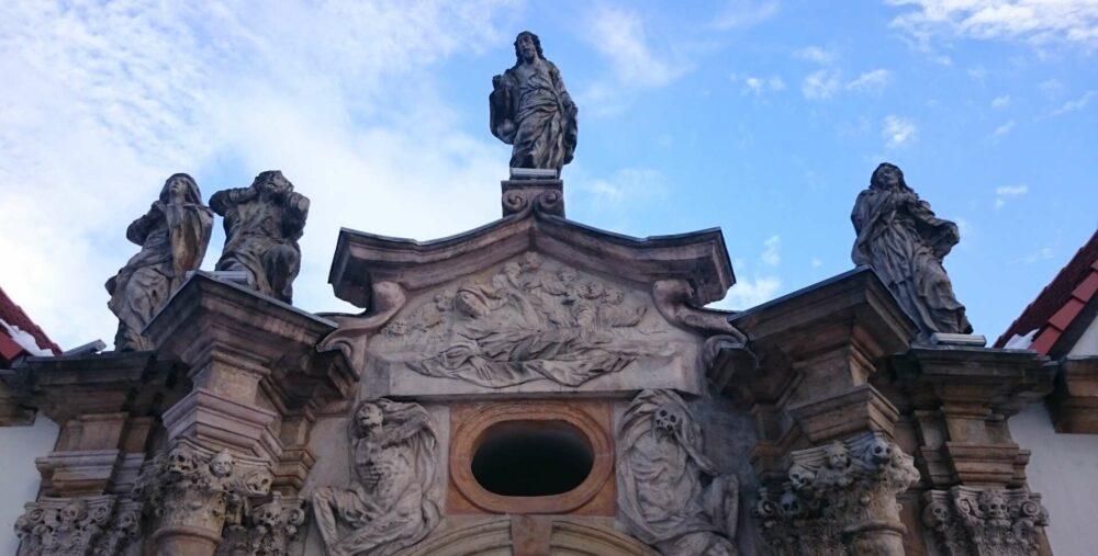 Grabmal eines Schleierherren in Hirschberg / Jelenia Gora