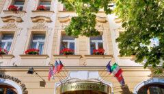 Unser Quartier, das angenehme 4 Sterne-Hotel Adria am Wenzelsplatz, liegt zentral und ist trotzdem ruhig