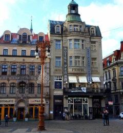 Unser Quartier in Liberec / Reichenberg: das Jugendstilhotel Praha