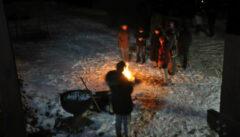 Abschied vom Künischen Gebirge mit einer Feuer-Lesung