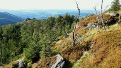Blick vom Isergebirge ins Binnenland