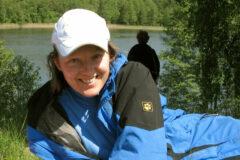 Iwona schätzt auch die Pausen an den masurischen Seen