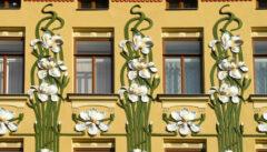 Floraler Jugendstil nach Wiener Vorbild