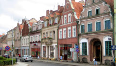 Treptow, Urbild eines pommerschen Landstädtchens und Motiv von Lyonel Feininger