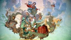 Ein vergessener Schatz der Volksfrömmigkeit: die Fresken von Elias Dollhopf in der Kirche von Pistov