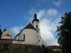"""Die """"Kirchenburg"""" in Bad Kötzting"""