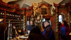 Die Barockapotheke von Klatovy birgt manches Teufelszeug