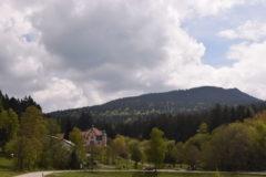 Blick auf die Osser-Gipfel